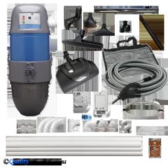 AVP3000 3-inlet Electric Kit