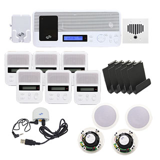 Deluxe Pack White W/Bluetooth