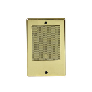 Intercom Door Station Bright Brass
