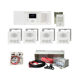 NuTone NM200WH NM200 Intercom System Kit for New Installation