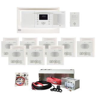 Nutone Nm100 Intercom System Upgrade Replacement 8 Room