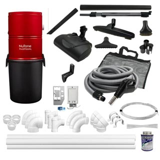 NuTone  PP5501  3-Inlet Electric Kit
