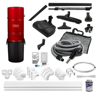 NuTone  PP6501 6-Inlet Electric Kit