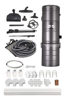 Complete Central Vacuum Kits