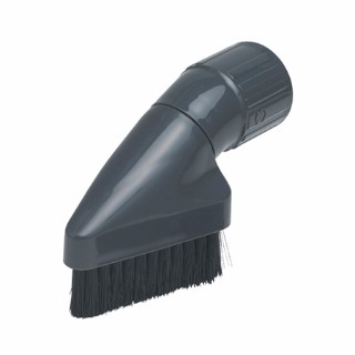 Sebo 1387GS Dusting Brush, horsehair, without clip -gray black