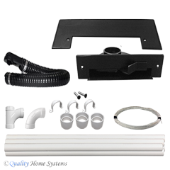 Universal  VacPan Automatic Dustpan Kit