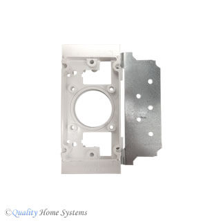 Universal  Mounting Bracket with Metal Flange for VACUFLO
