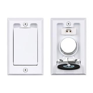 Hayden SuperValve Square Door Inlet White