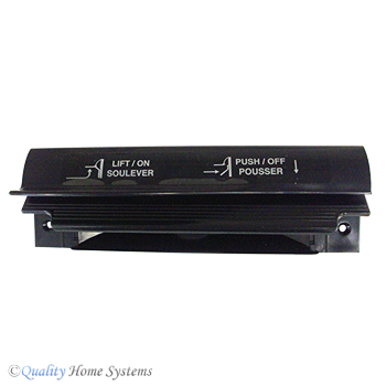 VacuSweep Automatic Dustpan Black