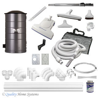 VacuMaid  SR36 3-Inlet Turbo Kit