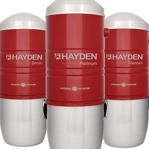 Hybrid Central Vacuum Units