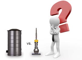 Portable Vacuum vs. Central Vac System