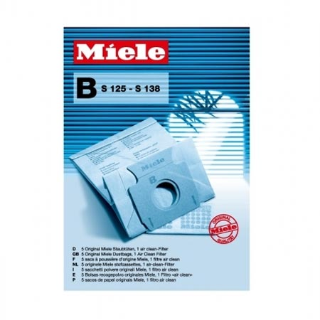 Miele 01122199 Type B Paper Dustbags - S125 - S138