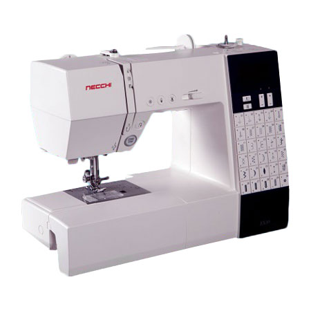 Necchi EX30 Sewing Machine Plus FREE Even Feed and Rolled Hem Feet