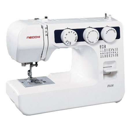 "Necchi FA16 Sewing Machine with FREE 1/4"" Presser Foot"
