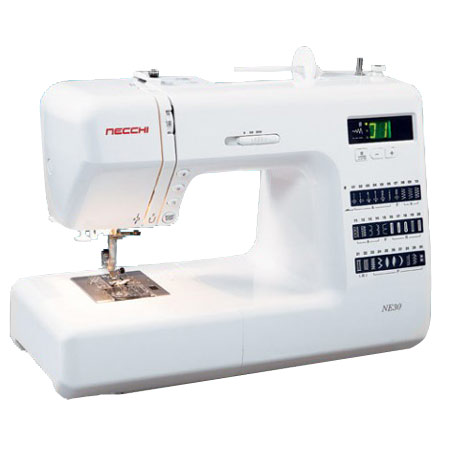 "Necchi NE30 Sewing Machine Plus Free 1/4"" and Darning Feet"