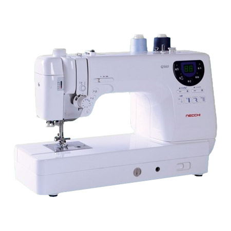Necchi QS60 Sewing Machine with Seven FREE Presser Feet