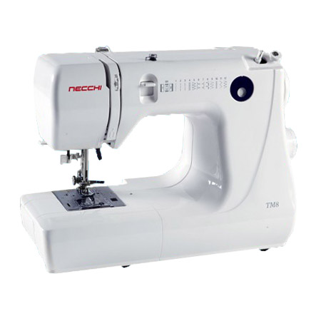 "Necchi TM8 Sewing Machine with FREE 1/4"" Presser Foot"
